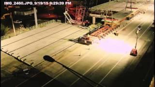 Fast Fix 8: I-40 West over Herman Street Timelapse