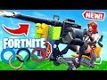 OLYMPICS *NEW* TURRET Game Modes in Fortnite Battle Royale