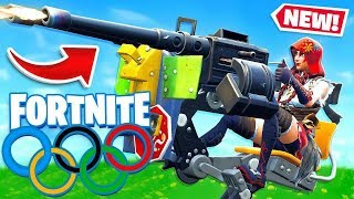 TURRET OLYMPICS *NEW* ITEM Game Modes in Fortnite Battle Royale