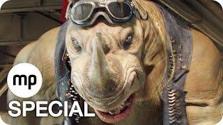 TEENAGE MUTANT NINJA TURTLES 2 Clip & Trailer German Deutsch (2016) Exklusiv
