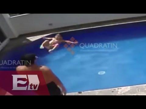 Cámaras de seguridad captan hombre mientras ahoga a niña de 3 años en la piscina de hotel