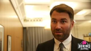HEARN: 'EUBANK JR DOESN'T OWN TOWELS BUT HE PULLED OUT OF A FIGHT WITH A TENNIS ELBOW'