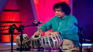 Ustad Zakir Hossain Tabla Solo Part1 Bengal Foundation Classical Music Fest. 2015