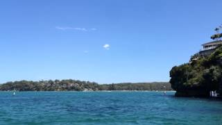Bundeena Ferry Ride timelapse