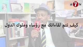 """حوار حصري لقناة """"le 7tv"""" مع الإعلامي طلحة جبريل"""