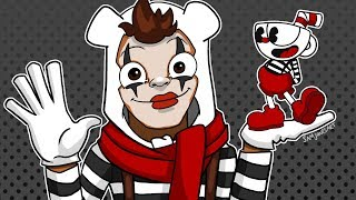 BasicallyIRage - Cuphead #9 MIME RAGE (Twitch Highlights)