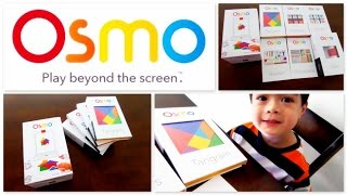 OSMO Genius Kit Unboxing, Review & Demo (Interactive Educational Game System For the Ipad)