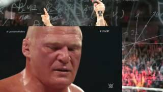 WWE World Hvt. Championship - Seth Rollins (c) vs. Brock Lesnar and Undertaker Returns