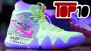 Top 10 Nike Kyrie 4 Shoes Of 2018