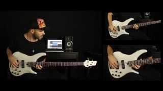 YAMAHA TRBX 504 Demo [by Miki Santamaria] Deorro x Chris Brown - Five More Hours