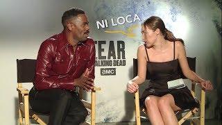 Fear the Walking Dead | Alycia & Colman hablando Español Argentino