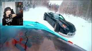 SNOW Tandems!! Watching Viral Car Related Facebook Videos EP2
