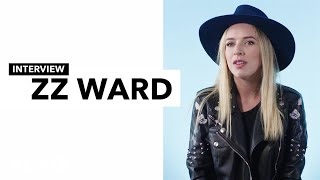 "ZZ Ward - ZZ Ward talks about how she weathered ""The Storm"""