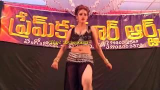 Beatiful Andhra Dancer  chandini Dance   Village Festivals