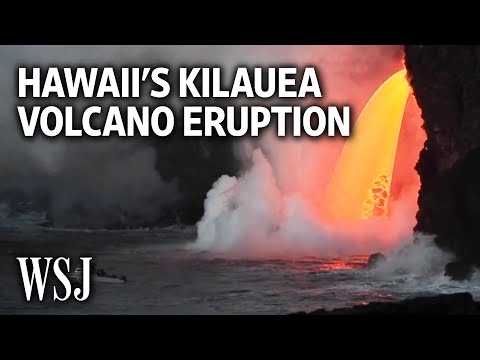 Lava Pours Steadily From Hawaii s Kilauea Volcano