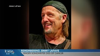 Austin singer-songwriter Jimmy LaFave dead at 61