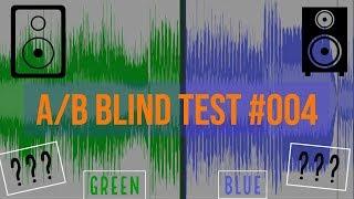 Blind A/B Speaker Test #004 - Blue vs. Green