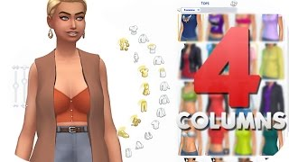 THE SIMS 4 // CAS MODS   HD LIGHTING + MORE COLUMNS — HOW TO INSTALL.