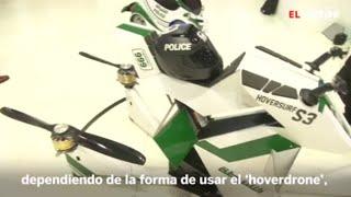 Hoversurf: la moto voladora de la policía de Dubái