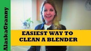 Easiest Way To Clean A Blender