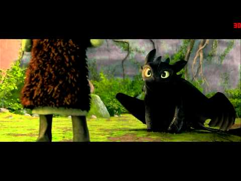 Cutest scene In How to Train your Dragon
