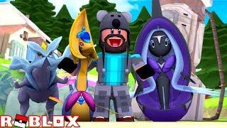 CRESSELIA + TAPU FINI + KYUREM!! | Pokémon Brick Bronze Randomizer [#3] | ROBLOX