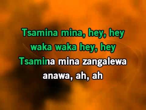 Shakira Waka Waka Karaoke
