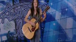lisa mitchell - australian idol audition (2006)