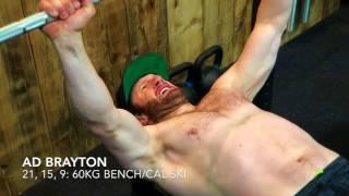 Downhill Workout - Adam Brayton mountain bike