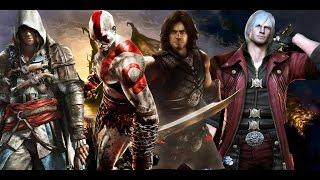 Prince of persia vs Dante(DmC) vs Assassin's creed vs God of war full Trailer