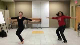 Week 3 - Darling Dambakku Choreography by Suna Shanmugaraj ft Beth Vrantsidis