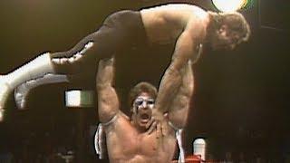Rick Rude vs. Ultimate Warrior: World Class Championship Wrestling, Aug. 22, 1986