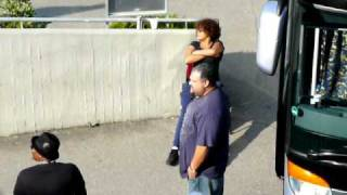 Whitney Houston taking a sunbath backstage in Stuttgart (Germany) on May 22nd, 2010 *EXCLUSIVE* [HQ]