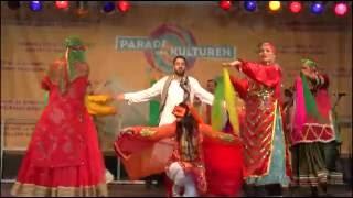 رقص بوشهری گروه کرشمه در جشن فرهنگهای فرانکفورت