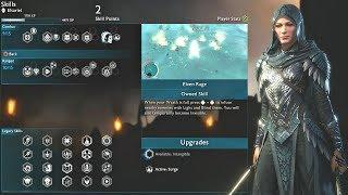 Shadow of War - Blade of Galadriel DLC - All Eltariel Skills Showcase