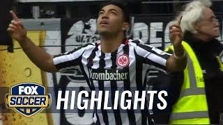 Marco Fabián's brace lifts Frankfurt over Augsburg | 2016-17 Bundesliga Highlights