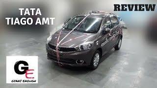 tata tiago XZA automatic actual showroom look | interiors & exteriors | detailed review !!!
