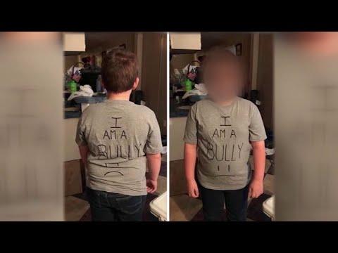 Xxx Mp4 Texas Mom Makes Son Wear I Am A Bully Shirt 3gp Sex