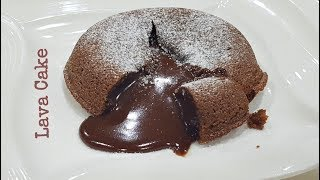 Chocolate Lava Cake | Molten Chocolate Lava Cake Recipe by Let