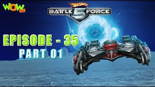 Motu Patlu presents Hot Wheels Battle Force 5 - Deep Freeze - S2 E35.P1 - in Hindi