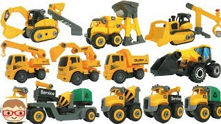 Car toy videos for children - Excavator, Truck,  Lorry, Toys for Kids, Building Blocks Toys for Kids