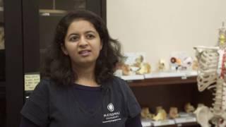 National University International Student Aayushi Padhya