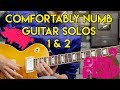 Comfortably Numb Guitar Solos Cover Pink Floyd Gibson Les Paul Standard mp3