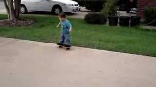 Skate jongetje