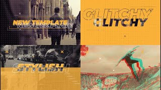 Glitch Urban Promo After Effects Templates