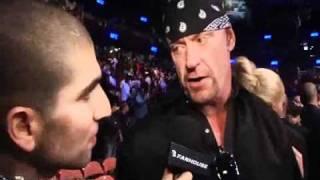Undertaker Interview On Brock Lesnar Vs Cain Velasquez