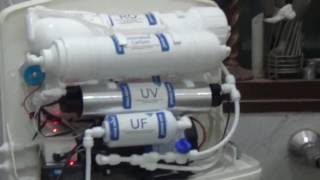 Unboxing of Aquafresh Aquagrand J13 12 ltr RO+UV+TDS Controller and Reviews