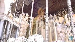 Semana Santa 2016 | Momento en el que la Esperanza Macarena entra en su templo (Sevilla)