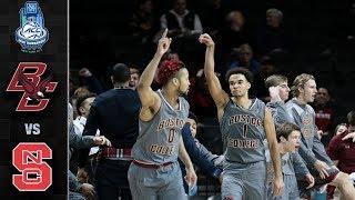 Boston College vs. NC State ACC Basketball Tournament Highlights (2018)