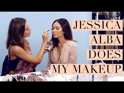 Jessica Alba Does My Makeup!!!